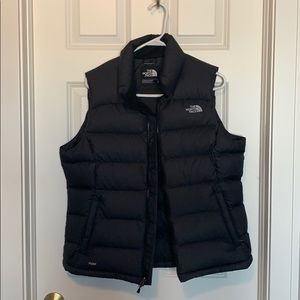 North face black vest - Brand New